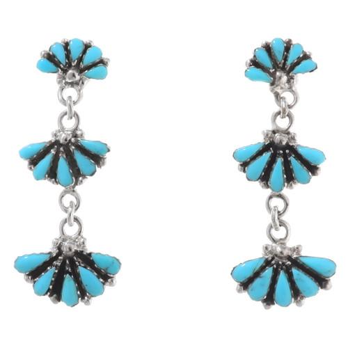 Sleeping Beauty Turquoise Earrings 40691