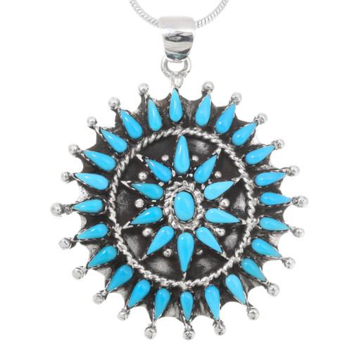 Sleeping Beauty Turquoise Pendant 40694