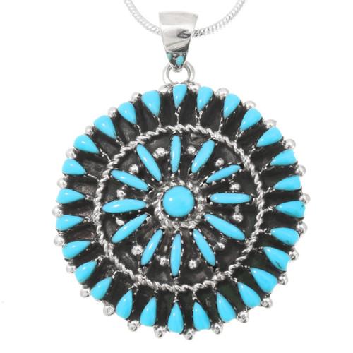 Sleeping Beauty Turquoise Pendant 40698