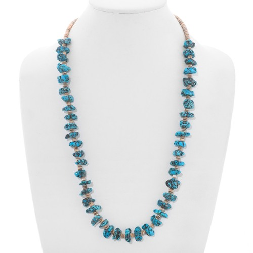 Ithaca Peak Turquoise Nugget Necklace 40741