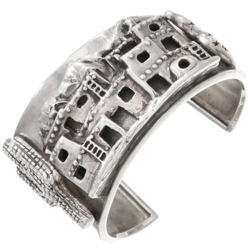 Sterling Silver Cliff Dwellings Bracelet 40743