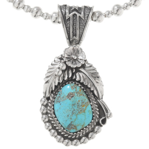 Royston Turquoise Sterling Silver Pendant 40788