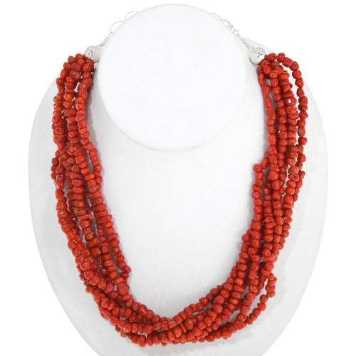 Mediterranean Coral Necklace 40837