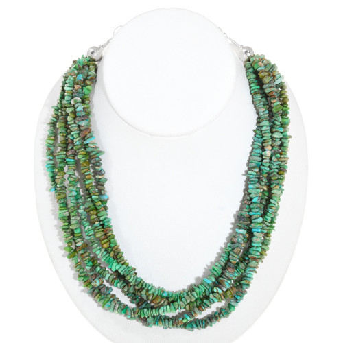 Natural Sonoran Gold Turquoise Necklace 40841