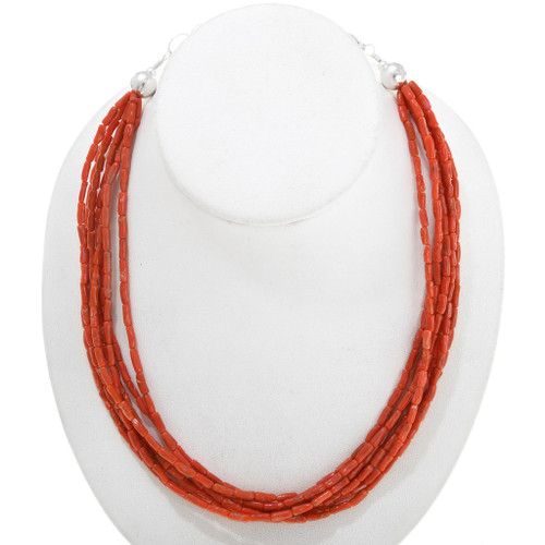 Natural Coral Necklace 40845