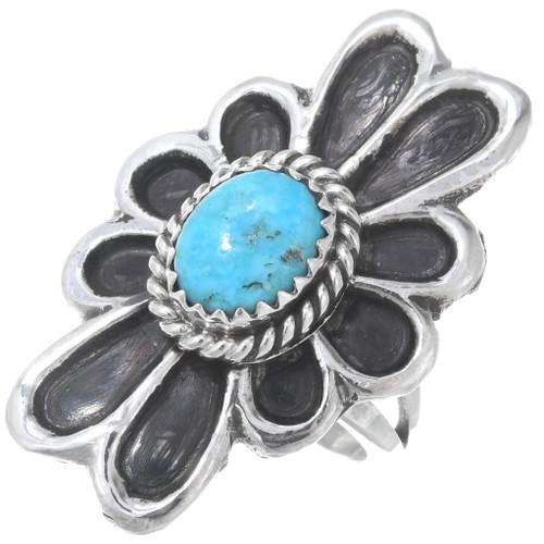 Native American Turquoise Ladies Ring 41012