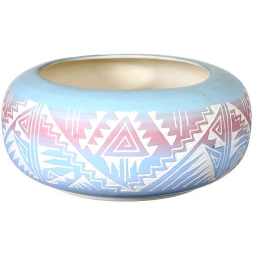 Vintage Navajo Polychrome Pottery 41014
