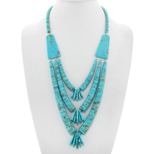 Vintage Santo Domingo Turquoise Necklace 41301