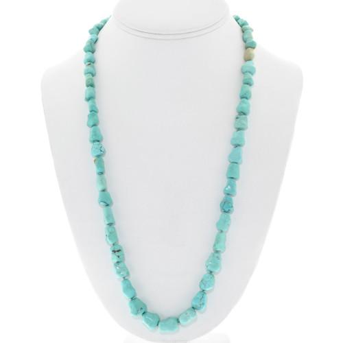 Vintage Tibetan Turquoise Necklace 41348