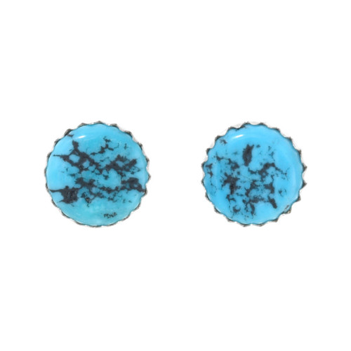 Natural Turquoise Earrings 41378