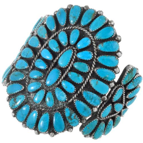 Navajo Cluster Turquoise Bracelet 41523