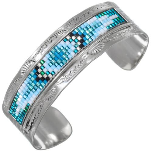 Navajo Colorful Beaded Bracelet 41535