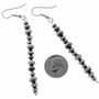 Navajo Traditional French Hook Earrings 24789