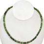 4mm by 6mm Australian Jade Beads 16 inch Strand