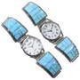 Sterling Silver Opal Watch 24475