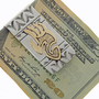 Gold Silver Money Clip 15002