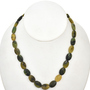 10mm by 13mm Australian Jade Beads 16 inch Strand