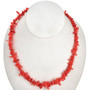 8mm Angelskin Coral Bead 16 inch Long Strand
