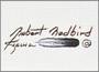 "Robert Redbird Native American Art Print ""The Loner"""