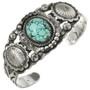 Turquoise Santa Fe Cuff Bracelet 24320