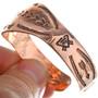 Handmade Navajo Copper Cuff 26026
