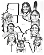 Limited Edition Native American Print by Native American Frankie C Nez