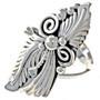 Ladies Sterling Navajo Ring 22205