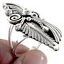 Native American Leaf and Swirl Ring 22205