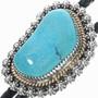 Native American Turquoise Bolo Tie 25920