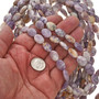 10mm by 13mm Charoite Beads 16 inch Strand