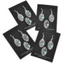 Navajo Pendant Set French Hook Earrings 25510