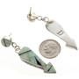 Opal Post Dangle Earrings 15110