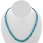 Turquoise 8mm Coin Beads 25613