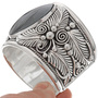 Navajo Wide Sterling Bracelet 25862