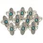 Natural Kingman Turquoise Ring 26690