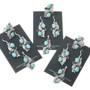 Genuine Kingman Turquoise Dangle Earrings 25870