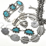 Bisbee II Turquoise Jewelry Set