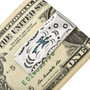 Inlaid Water Bird Money Clip 22840