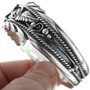 Navajo Sterling Ladies Cuff Bracelet 14581