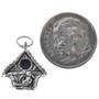 Sterling Silver Bird House Charm Bracelet Pendant Necklace