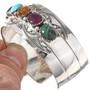 Turquoise Lapis Amethyst Bracelet 19421