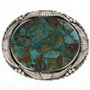 Turquoise Silver Buckle 11248