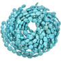 Turquoise Magnesite Oval Beads 30864