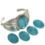 Ladies Turquoise Native Bracelet 23910