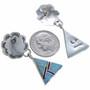 southwest Concho Dangle Earrings 15113