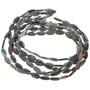 9mm x 18mm Kyanite Beads 16 inch Long Strand