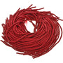 5mm Red Wooden Beads 16 inch Strand