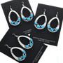Sterling Southwest French Hook Earrings 26829