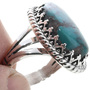 Turquoise Silver Ladies Ring 27810