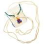 Hand Beaded Buckskin Bag 30260